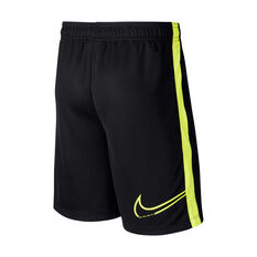 Nike Boys CR7 Dri-FIT Football Shorts Black / Yellow XS, Black / Yellow, rebel_hi-res