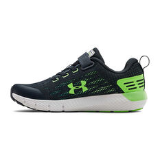 Under Armour Charged Rogue Kids Running Shoes Green US 11, Green, rebel_hi-res