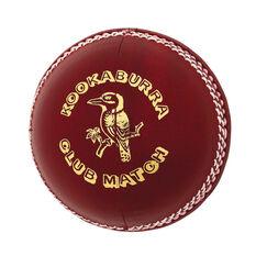 Kookaburra Club Match 156g Senior Cricket Ball, , rebel_hi-res