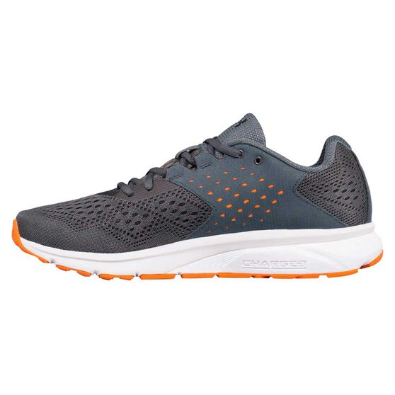 e6924c894a Under Armour Charged Rebel Mens Running Shoes Grey / Orange US 11.5
