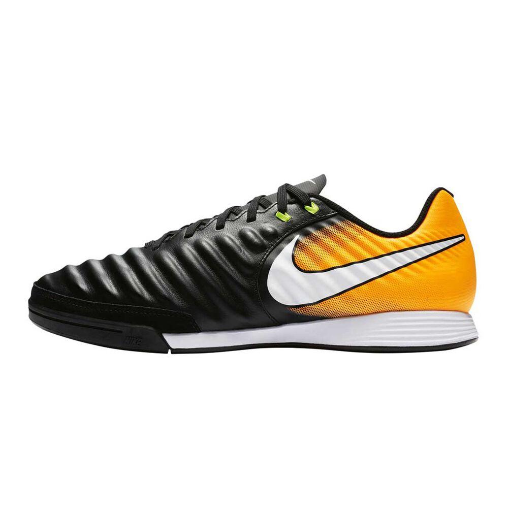 53a12f6d6 Nike TiempoX Ligera IV Mens Indoor Soccer Shoes Black / White US 9 Adult,  Black