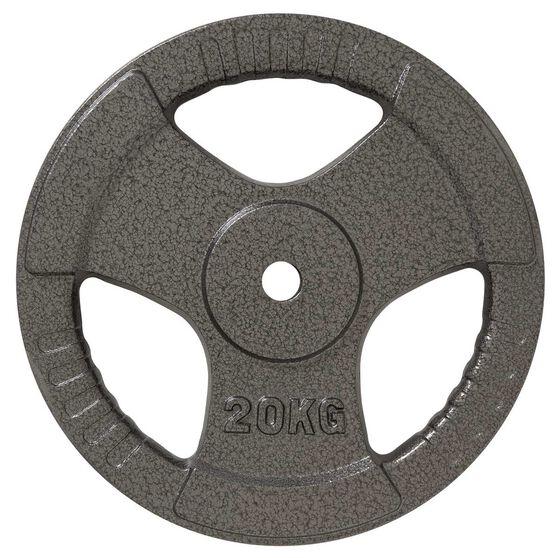 Celsius 20kg Tri Grip Weight Plate, , rebel_hi-res