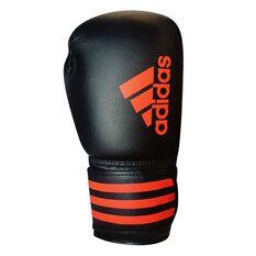 adidas Hybrid 50 Boxing Glove Black / Red 12oz, , rebel_hi-res