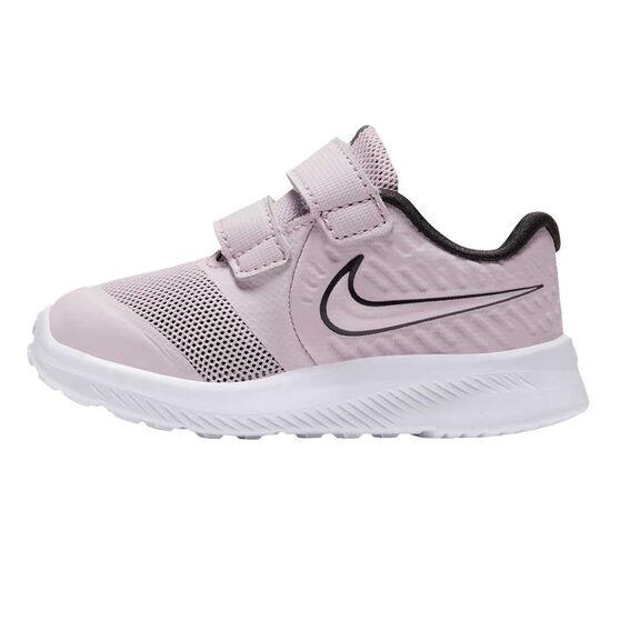 Nike Star Runner 2 Toddlers Shoes Pink/White US 4, Pink/White, rebel_hi-res