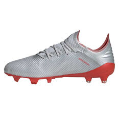9bd364475 ... Silver adidas X 19.1 Football Boots Silver   Red US Mens 7   Womens 8