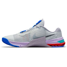 Nike Metcon 7 Mens Training Shoes Grey/Purple US 7, Grey/Purple, rebel_hi-res