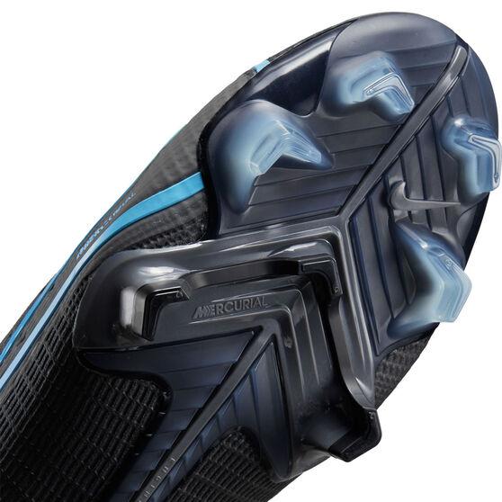 Nike Mercurial Vapor 14 Elite Football Boots, Black/Grey, rebel_hi-res