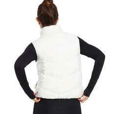 Nimble Womens Cloud Like II Vest Jacket, White, rebel_hi-res