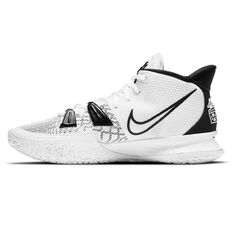 Nike Kyrie 7 Basketball Shoes White US 5.5, White, rebel_hi-res