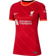 Liverpool FC 2021/22 Replica Womens Home Jersey Red XS, Red, rebel_hi-res