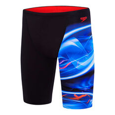 d14f82674de7 Speedo Mens Flume Jammer Swim Shorts Black   Print 14, Black   Print, ...