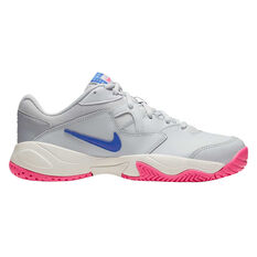 Nike Court Lite 2 Womens Tennis Shoes White / Blue US 6, White / Blue, rebel_hi-res