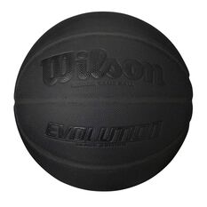 Wilson Evolution Blackout Edition Basketball Black 7, , rebel_hi-res