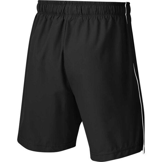 Nike Boys 6in Woven Shorts, Black / White, rebel_hi-res