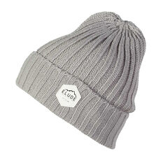Elude Mens Wharfie Beanie Grey OSFA, , rebel_hi-res
