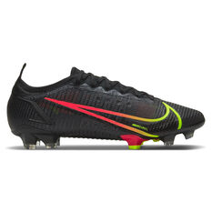Nike Mercurial Vapor 14 Elite Football Boots Black US Mens 4 / Womens 5.5, Black, rebel_hi-res