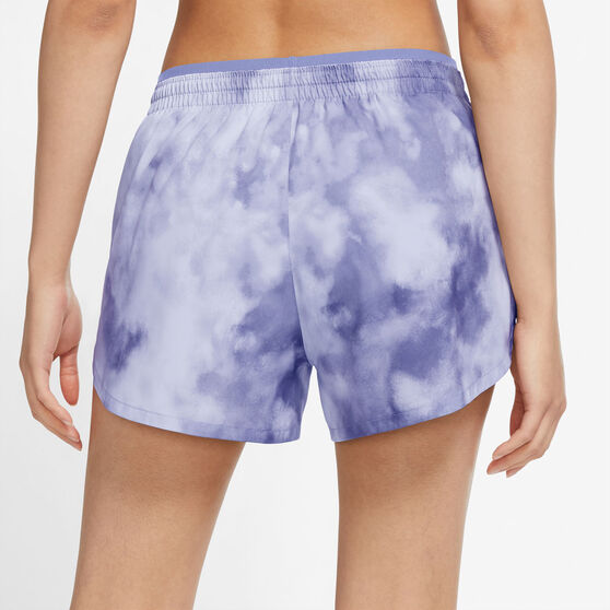 Nike Womens Tempo Luxe Icon Clash Running Shorts Print M, Print, rebel_hi-res