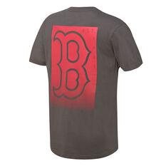 Majestic Mens Boston Red Sox Lance Tee, Grey, rebel_hi-res