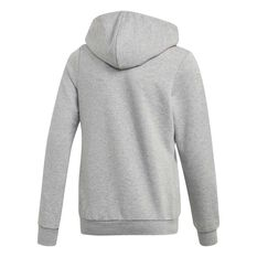 adidas Girls Essential Linear Hoodie Grey / Pink 6, Grey / Pink, rebel_hi-res