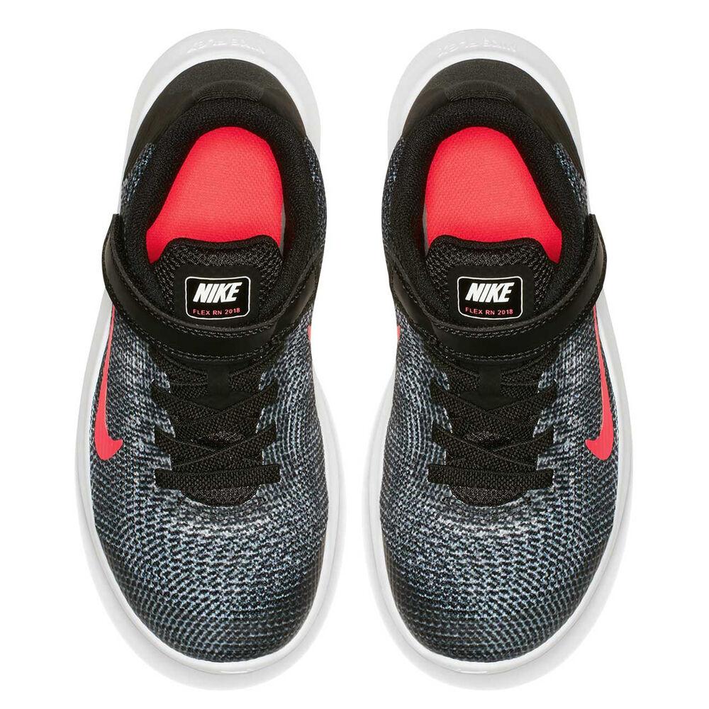 521ddcd37f Nike Flex RN 2018 Junior Girls Running Shoes Black / Pink US 3, Black /