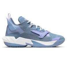 Jordan Why Not Zer0.4 Easter Basketball Shoes Blue US 7, Blue, rebel_hi-res