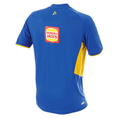 West Coast Eagles 2019 Mens Training Tee Blue / Yellow S, Blue / Yellow, rebel_hi-res