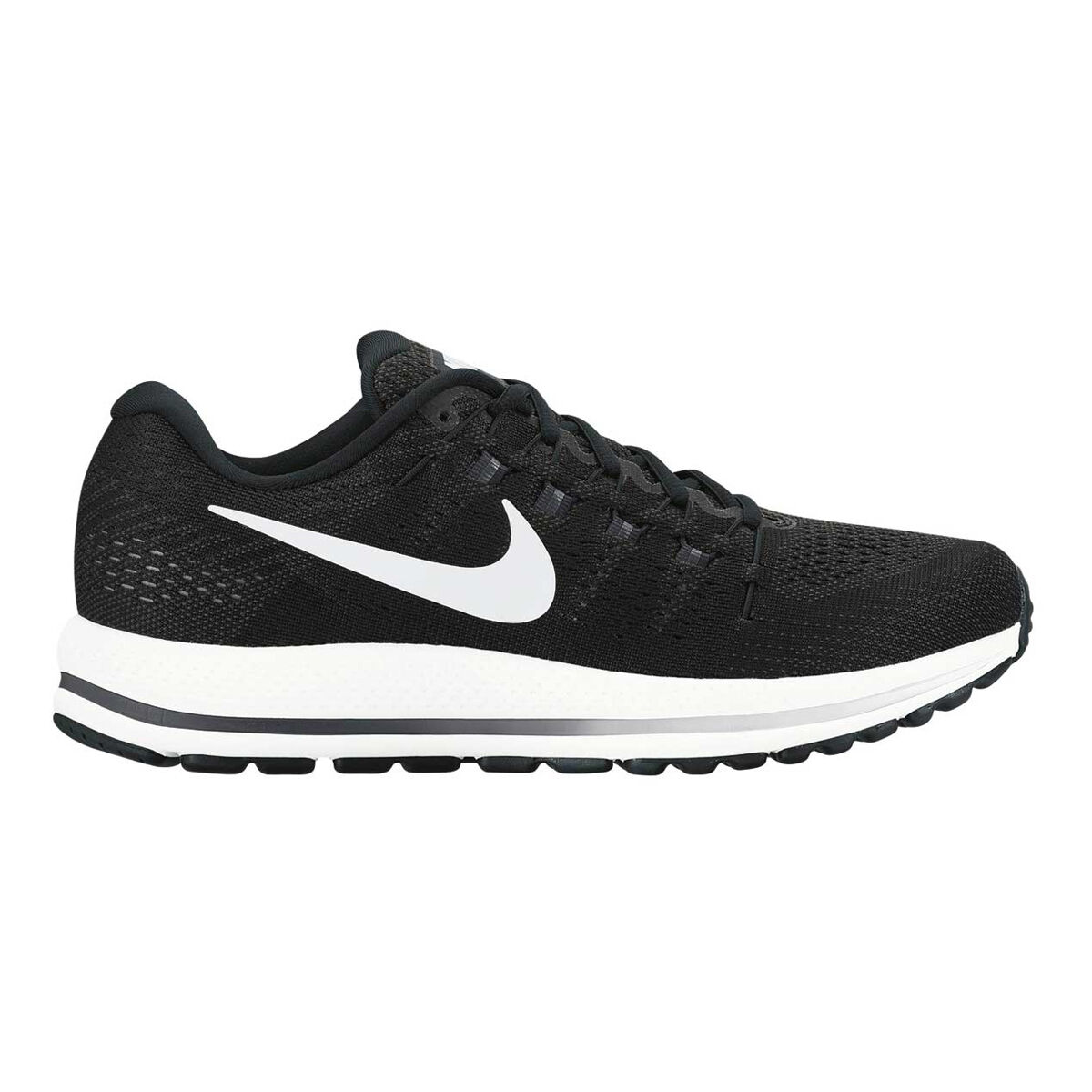 c67ff95b8f6 ... best price nike air zoom vomero 12 mens running shoes black white us 12  black ee6be