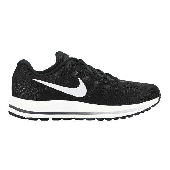 30372093e057 Nike Air Zoom Vomero 12 Mens Running Shoes Black   White US 7 ...