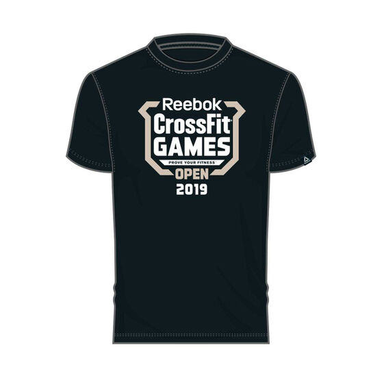 Reebok Mens CrossFit Games Open Crest Tee, , rebel_hi-res