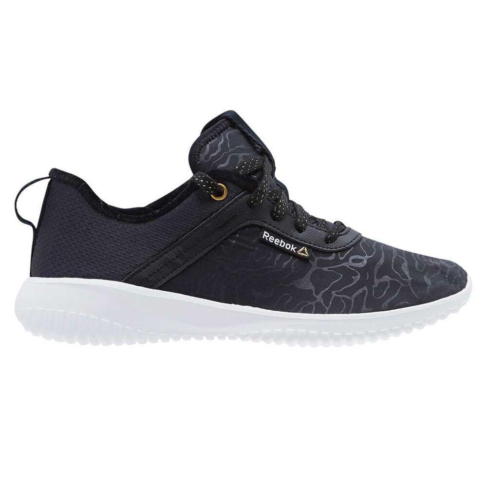 3228f5e5643 Reebok Womens Stylescape Skylite Womens Casual Shoes Black   Gold US ...