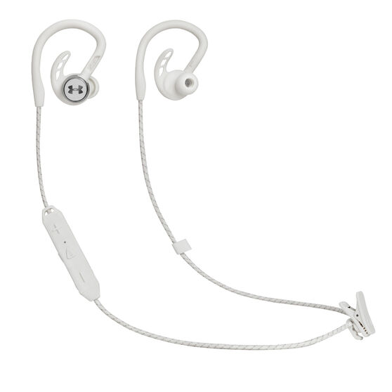Under Armour Pivot Wireless Sports In Earphones White, White, rebel_hi-res