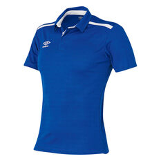 Umbro Velocity Polo Shirt Royal Blue S YTH, Royal Blue, rebel_hi-res