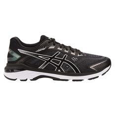 Asics GT 2000 7 Mens Running Shoes Black / White US 7, Black / White, rebel_hi-res