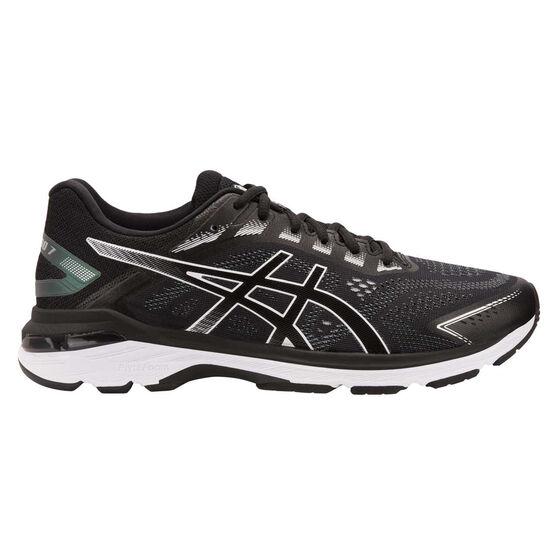 Asics GT 2000 7 Mens Running Shoes, Black / White, rebel_hi-res
