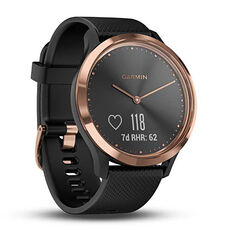 Garmin Vivomove HR Fitness Tracker Black Rose Gold, , rebel_hi-res