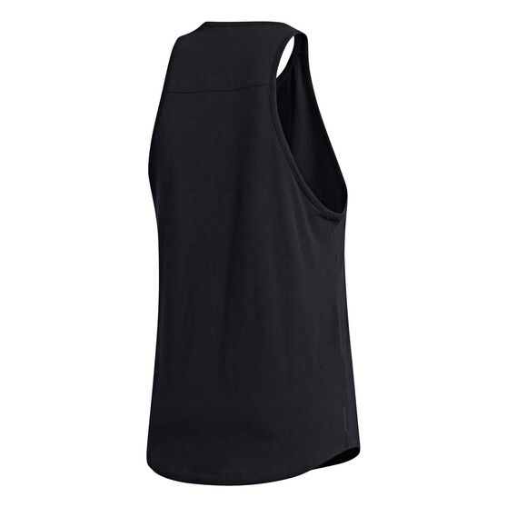 adidas Mens City Base Tank, Black, rebel_hi-res