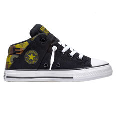 Converse Chuck Taylor All Star Axel Kids Casual Shoes Black US 4, Black, rebel_hi-res