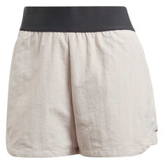 adidas Womens ID Shorts Pearl XS, Pearl, rebel_hi-res