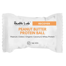 Health Lab  Recover Peanut Butter Protein Ball, , rebel_hi-res