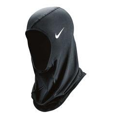 Nike Pro Womens Hijab Black / White XS/S Adult, Black / White, rebel_hi-res