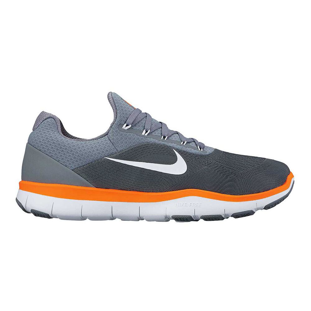ae66f2a8e95c1 Nike Free Trainer v7 Mens Training Shoes Grey   Orange US 13