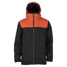 Elude Mens Journey Jacket Black / Orange S, Black / Orange, rebel_hi-res