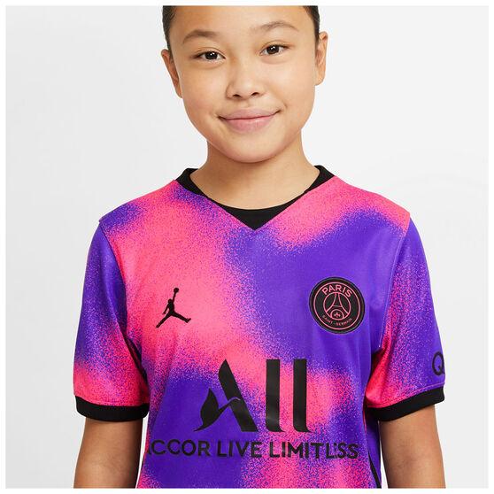 Paris Saint Germain FC 2020/21 Kids 4th Jersey, Multi, rebel_hi-res
