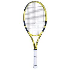 Babolat Aero Junior Tennis Racquet Yellow / Black 26 in, Yellow / Black, rebel_hi-res