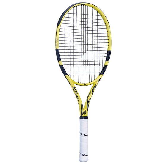 Babolat Aero Junior Tennis Racquet Yellow / Black 26 in, Yellow / Black, rebel_hi-res