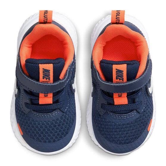 Nike Revolution 5 Toddlers Shoes, Navy/White, rebel_hi-res