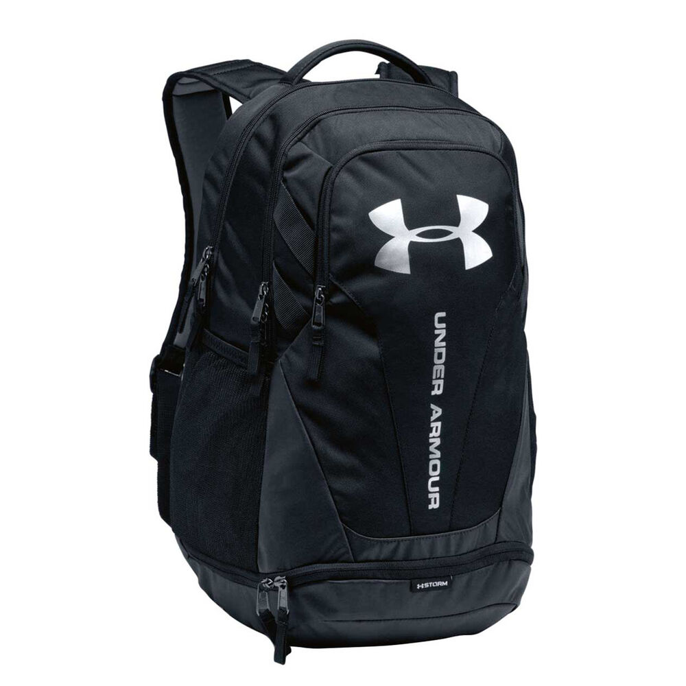 4264c39f3d Under Armour Hustle 3.0 Backpack Black   Silver