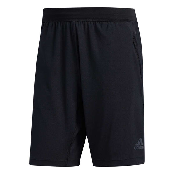 adidas Mens HEAT.RDY 9in Training Shorts, Black, rebel_hi-res