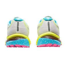 Asics GEL Cumulus 22 Lite Show Womens Running Shoes, White/Silver, rebel_hi-res