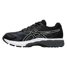 Asics GT 2000 8 Kids Running Shoes Black / White US 1, Black / White, rebel_hi-res